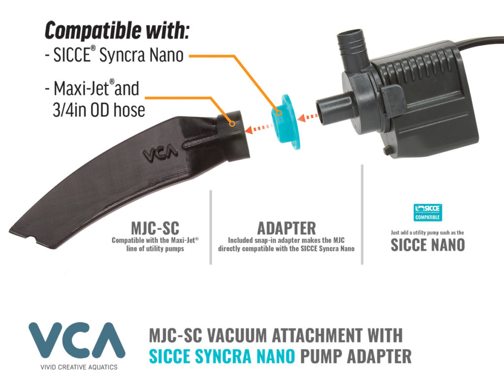 MJC-SC Vacuum Attachmant Crevice Tool